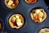 Karamell-Apfelkuchen-Törtchen | Ich wasche dich trocken   – Recipes