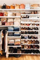 Master Closet Reveal: Unser & Ihrs Schrank