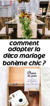 Wie man das böhmische schicke Hochzeitsdekor annimmt? komm und sieh 17   – Mariage