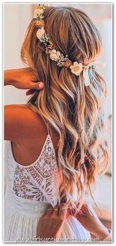 The Most Elegant Wedding Hairstyles # 2019styles #wedding # wedding hairstyle ... - Wedding Hairstyles - Beautiful - Wedding Hairstyles - # 2019styles # ...