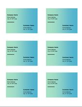 Avery Labels Template 8164 Elegant Shipping Labels Green Gra Nt Design 6 Per Page Works Label Templates Avery Shipping Labels Avery Label Templates