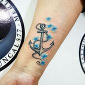 Anker Tattoo Motive: 54 coole Ideen für Ihre nächste Tätowierung – Tattoo Ideen