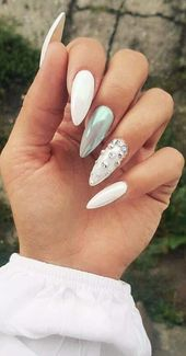 50 Fabulous Free Winter Nail Art Ideas 2019 – Page 23 of 53