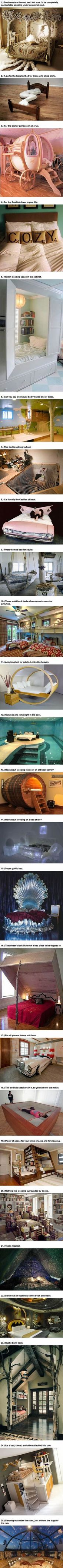 Warning: These 25 Amazing Beds Will Make You Wish It What Nap Time.