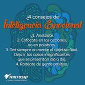#TipsMicrosip 4 consejos de inteligencia emocional