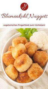 Blumenkohl-Nuggets Rezept – Snack, den Kinder und Erwachsene lieben