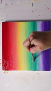 Acryl-Farbverlauf und Alkohol von Josie Lewis