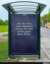 Für den Bus nach Hogwarts Lustige Bilder meme   – Film Germany