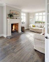 95+ Comfortable Modern Farmhouse Style Living Room Decor Ideas