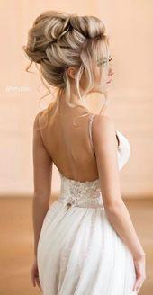 Empfohlene Frisur: Elstile; www.elstile.ru; Hochzeitsfrisur Idee. – #elstile