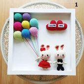 personalized amigurumi,christmas gift,crochet bunny,crochet toy newborn gift,chi…