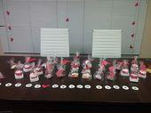 Office Valentine's Dessert Table