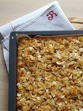 Apple pie with Florentine hat   – Kuchen
