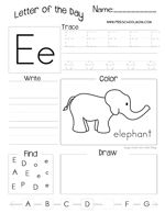 Alphabet Printables - | Worksheets, Letter tracing and Preschool ...