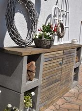 DIY Kommode für den Garten