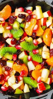 Thanksgiving: Winter Fruit Salad with Maple-Lime Dressing