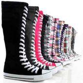 Post impresionismo Centro comercial Glamour  botas tipo zapatillas / zapatillas tipo bota. | Zapatos converse de mujer,  Moda con zapatillas, Zapatos de chicas