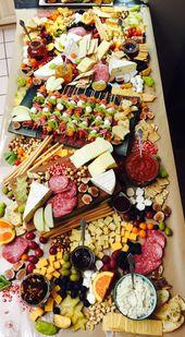 # Käseteller # Käseteller # Lecker # Obst und Käse # Fleisch und Käse #w ……