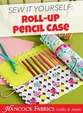 Alanda Crafts ? Craft Device, Crochet Hook, or Pencil Roll-up  Free Stitching Tutorial