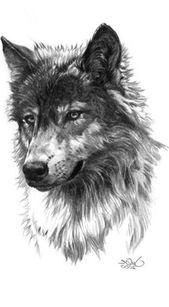 25 kleine Wolf Tattoo-Ideen für Frauen, die jetzt versuchen, kleine Wolf Tattoo-Ideen …
