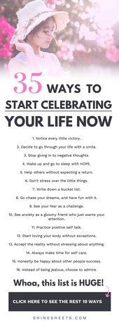 Wie man sein Leben feiert, AUCH wenn es nicht perf…
