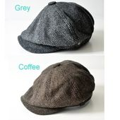 Mens Hat& Cap Winter and Autumn Peaky Blinders Style 'Shelby' Cloth Cap …