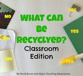 Was kann recycelt werden: Classroom Edition – Teaching-Helpful Hints