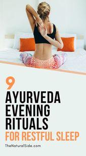 9 Ayurveda Evening Rituals for Restful Sleep – Spirituell