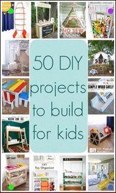 50 Projekte für Kinder zu bauen