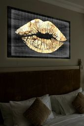 Die Leinwandbilder als Akzent im Interieur