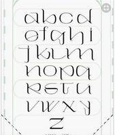 Kalligraphie-Schriften #art #kunst #design