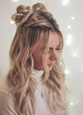 Half-braided hairstyles that you should see - #The #Hairstyles #Weaved #Half-braided #View -