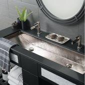 Native Trails Trough Metal 48″ Trough Bathroom Sink | Wayfair