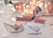 Invitations  Romantische Hochzeit im Travel-Look • Ich Liebe Deko