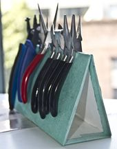 Embergrass Jewelry   Blog: How to: make your own plier stand