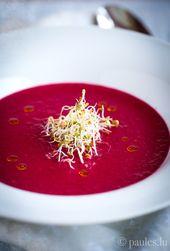 Rote Bete Suppe mit Kokosmilch und Zitronengras | …