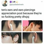 I love ear piercings! They look so beautiful! I have 5 piercings/earrings and want at least one more