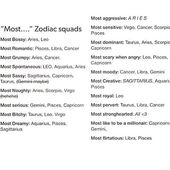 Most naughty, sensitive, and dominant. Sounds about right… They forgot most sa…