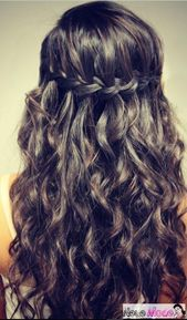 Semi-open Hairstyle – New Semi-Open Hairstyles 2019 – abiball hairstyles semi-open, bridal hairstyle semi-open, festive hairstyles semi-open, hair semi-open, half-open hairstyles medium-long hair, half-open updo, updos semi-open – Today Pin