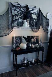 100+ günstige DIY Dollar Store Halloween Deko Ide…