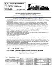 Lionel Whistle Tender Schematics In 2020 About Me Blog Model Trains Tenders