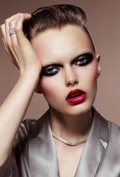liebe den ganzen Look   – Black Eye and Face Makeup Universe