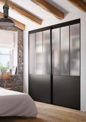 """Dressing & Porte Placard SOGAL : modèle de Porte de placard """"Modèle Atelier Ba… – home/decoration"""