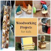 Dies sind unglaubliche Holzbearbeitungsprojekte für Kinder – und sogar für Kinder im Vorschulalter! #woo …