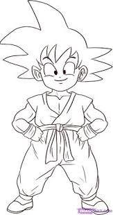 Resultado De Imagen Para Imagenes Para Dibujar Goku Con Imagenes