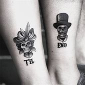 Matching Couple Tattoos Ideas to Try 2019   – Artsy