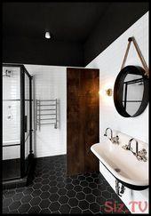 9 Interior Ideen Monochromer Chic F R Dein Zuhause 9 Interior Ideen Monochromer Badez Badezimmer Renovieren Badezimmer Innenausstattung Bodenfliesen Bad