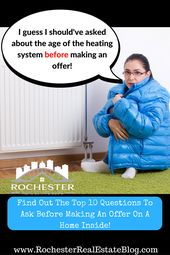 Top 10 Questions To Ask Before Making An Offer On A Home