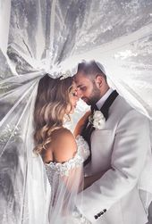 Kreative Ideen und Posen für Hochzeitsfotos