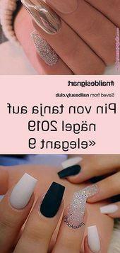 Pin von Tanja auf den Nägeln 2019 «Elegant – #on #Elegant #nails #pin #Tanja #of …   – Nagel Ideen